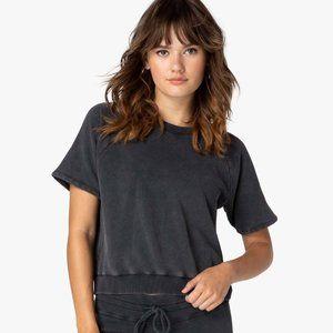 Beyond Yoga Vintage Wash Short Sleeve Pullover